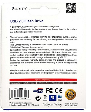 فلش وریتی ۳۲ گیگابایت مدل V803