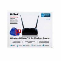 مودم روتر +ADSL2 بی سیم N300 دی-لینک مدل DSL-2740U