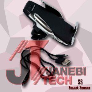 158 LQ 300x300 - پایه نگهدارنده و شارژر بی سیم گوشی موبایل مدل S5