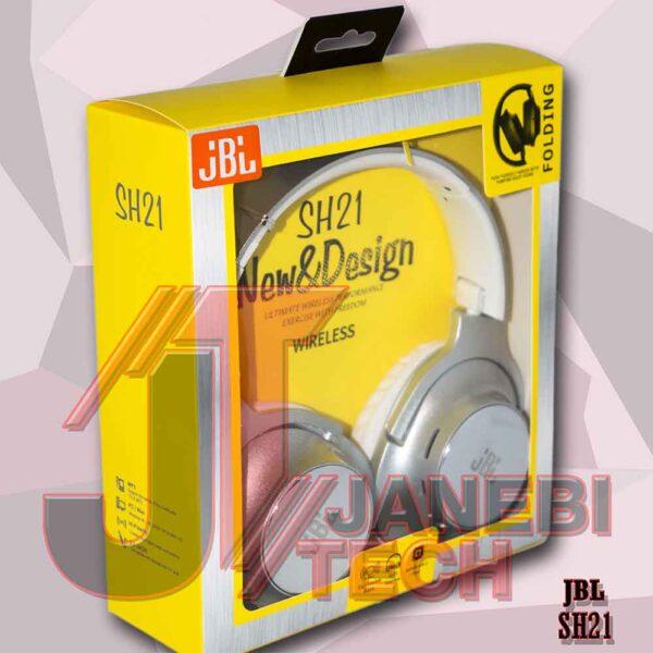 هدفون بی سیم JBL مدل SH21 (طرح)