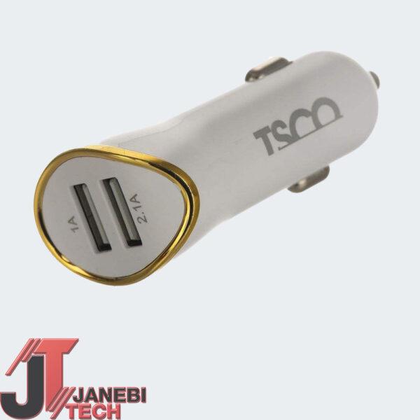 شارژر فندکی تسکو مدل TCG 31 به همراه کابل microUSB