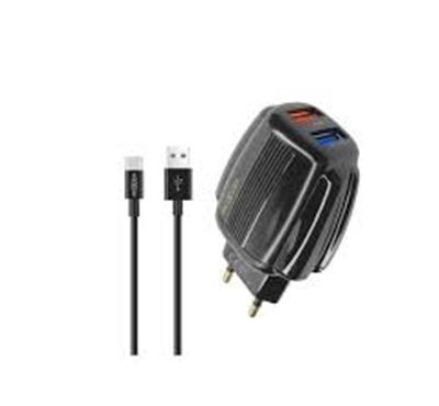 شارژر به همراه کابل micro usb موکسوم MX-HC44